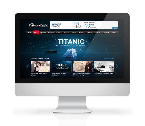 Web Page Design in Halifax, Nova Scotia